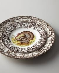 spode woodland turkey dinnerware from horchow on shop catalogspree