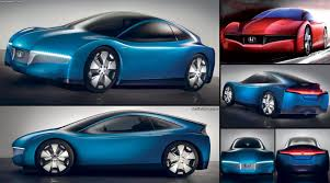 hybrid sports cars honda small hybrid sports concept 2007 pictures information