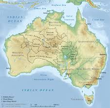 where is on the map deserts of australia with where is on the map where is australia