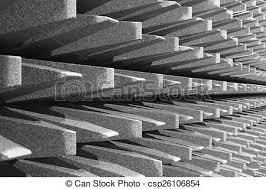 chambre sourde électromagnétique ou chambre sourde mur images de
