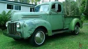 Old Ford V8 Truck - 1946 f1 jailbar rat rod rod rare patina old small block