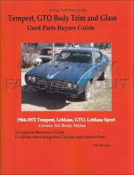 1972 pontiac body repair shop manual original