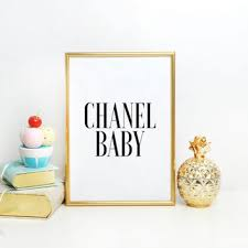 Chanel Party Decorations Shop Pink Glitter Party Decorations For Baby On Wanelo