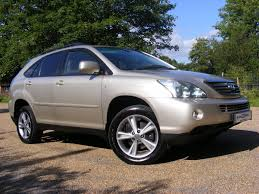 lexus used uk used 2007 lexus rx 400h se cvt for sale in tonbridge kent auto