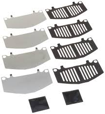 nissan versa brake pads amazon com pad shims brake system automotive front rear