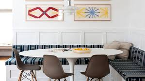 add a banquette for an instant dining area in your kitchen today com