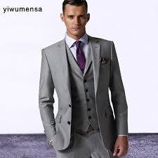 costume mariage homme gris custom made gris hommes de mariage robe 2017 marié