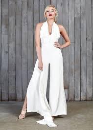 wedding dress jumpsuit yorath bridal jumpsuit house of ollichon