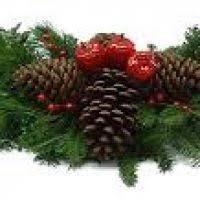real wreath decore