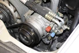 porsche 944 ac compressor two fourths a porsche 993 grounded