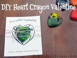 crayon valentines ideas for kids
