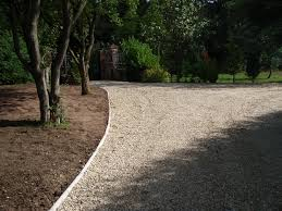 Cobblestone Ideas by Driveway Edging Ideas Concrete Driveway Edging Gravel Driveway
