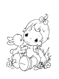 2019 precious moments coloring images
