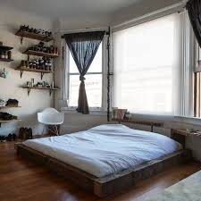 Low To The Ground Bed Frame The Chic Way To Style Your Bed On The Floor Bedrooms Window And