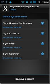 contact sync android how to sync or transfer data from one android device to another