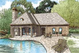 house plans with pool house guest house front elevation of this cottage house guest house pool house