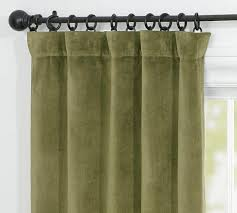 Moss Green Curtains Moss Green Velvet Curtains Mccurtaincounty