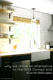 Ikea Sinks Kitchen by Why We Didn U0027t Chose The Ikea Domsjo Sink For Our Farm Sink Kitchen