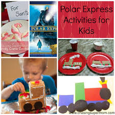 polar express activities chasing supermom