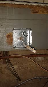 electrical basement emt conduit 12g thnn wires nm b home