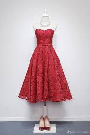 lace wedding guest dresses wine lace wedding guest dress sweetheart tea length fancy lace