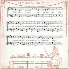 Three Blind Mice Piano Notes The Project Gutenberg Ebook Of The Baby U0027s Opera By Walter Crane