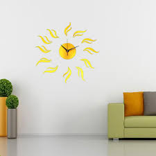 3d modern frameless wall clock crystal mirror sticker hours diy 3d modern frameless wall clock crystal mirror sticker