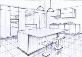 dimension ilot cuisine charmant plan de cuisine avec ilot central et amenagement avec