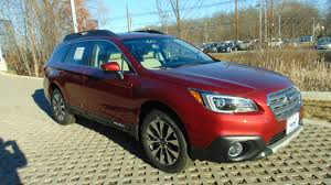 2017 subaru outback 2 5i limited red patriot subaru of north attleboro vehicles for sale in north
