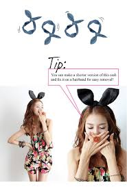 asian headband diy bunny ears the yesstylist asian fashion brought to