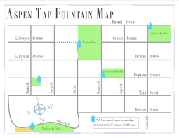 Aspen Map Aspen Tap Program Water Departments City Of Aspen And Pitkin