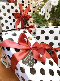 polka dot gift wrap 25 simple creative diy gift wrap ideas day 13 of 31 days to