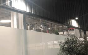tesla model 3 assembly line spotted in action at the fremont factory