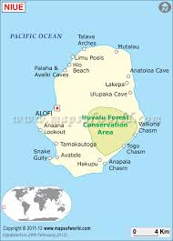 niue on world map map