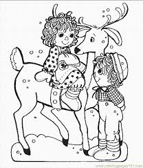 cartoon reindeer coloring pages coloring