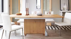 modern oak extending dining table youtube