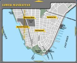 downtown manhattan map lower manhattan york city hotel map battery park nyc mappery