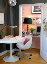 Home Office Design Ideas For Small Spaces - Closet home office design ideas