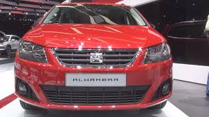 seat alhambra 2 0 tdi 150 hp 4drive 2016 exterior and interior