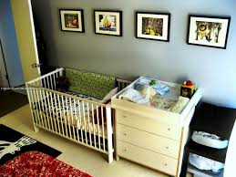 cribs with changing table and storage baby crib with storage nursery ideas