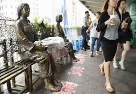Comfort Women Japan Comfort Women U0027 Statues Outside Japanese Consulate To Stay For Now