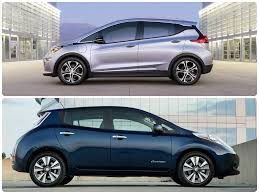 nissan leaf sv vs sl 2017 chevrolet bolt vs 2016 nissan leaf ev mashup review an