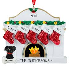family with dogs ornaments personalized ornaments for you