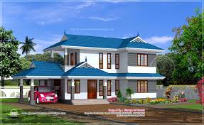 1895 sq ft 3 bed room kerala style villa house design plans