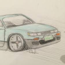 nissan silvia drawing images tagged with hoshinos on instagram