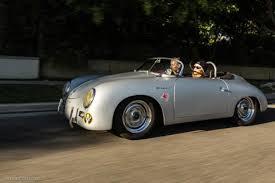 porsche speedster kit car learning to drive in a porsche speedster replica petrolicious