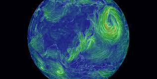 earth wind map wind wonderfully visualized tokyo now the world the bridge