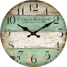 Shabby Chic Wall Clocks by The Rustic Clock