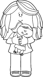 coloring pages cartoon baby doll coloring