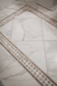 tile rug in carrara marble tile a very timeless look tile rug